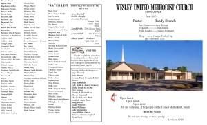 May. NL Front Pg & Prayer List 2015