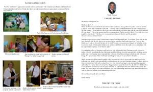 November NL Pastor's Pg & Spotlight 2014